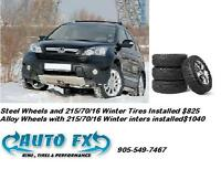 Honda CR-V Winter Rims and Tires Package