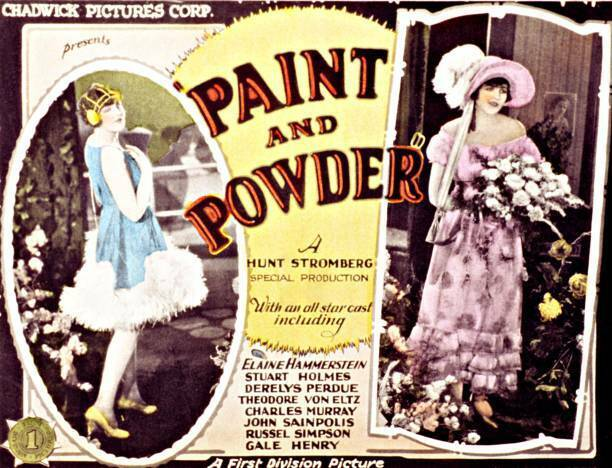OLD MOVIE PHOTO Paint And Powder Poster Elaine Hammerstein On Title Card 1925