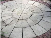 slab circle about 8foot
