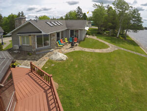 Spectacular Waterfront Home on Oromocto Lake, NB
