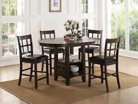 FREE PST ON ALL INSTOCK DINETTES AND DINING  STARTING AT $298.00