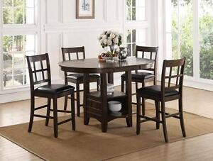 Brand new counter height 5 pc dinette set $648+FREE DELIVERY!!!!