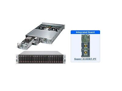*NEW* SuperMicro SYS-2028TP-DECTR 2U Server with X10DRT-PT Motherboard