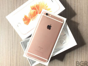 APPLE IPHONE 6S 128GB ROSE GOLD UNLOCK MINT CONDITION