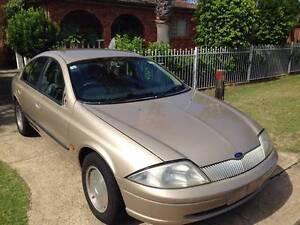 Ford Futura AU Auto Gold colour wrecking parts Lockhart Lockhart Area Preview