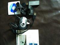 V Gear Web Cam and USB Wifi stick