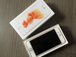 FACTORY UNLOCKED APP,E IPHONE 6S 128GB ROSE GOLD BOXED $399