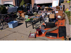 Yard sale, on now