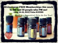 """Free essential oils wholesale account, free oils & """"how to"""" book"""