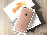 IPhone 6s Plus 16gb ROSE GOLD 7 month Apple warranty