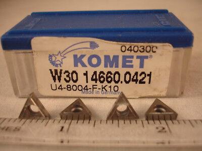 W30 14660.0421 K10 Komet Carbide Inserts 10pcs 356
