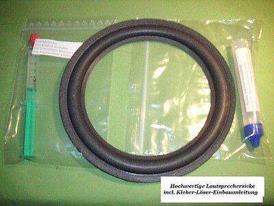Saba Ultra Hifi 1205 high quality Lautsprecher Sicke foam surround kit  235