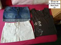 skirts size 10