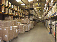 Part-time to full-time position available in shipping warehouse