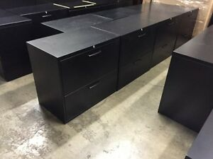 2 DRAWER LATERAL FILING CABINET -Teknion
