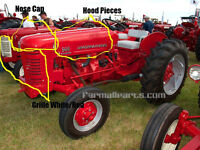 I need IH, International, Farmall 300 hood, grille, and nose