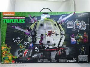 mega bloks ninja turtles technodrome exclusive