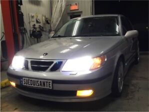 Saab 9-5 2.3 turbo manuel Aero trim