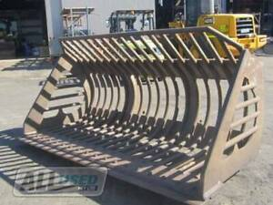 (HIRE) H/DUTY RAKE BUCKET WITH EURO PICK UPS (GS140301) Kewdale Belmont Area Preview