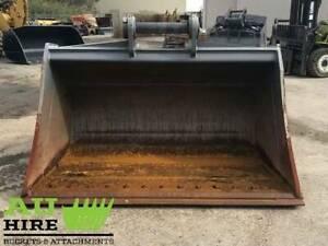(HIRE) BATTER BUCKET WITH BOLT ON EDGE & 100mm PINS (AU14100BMUDBKT-1) Kewdale Belmont Area Preview
