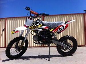 Awesome 125cc Dirt Bike Big wheel Brand New Helensvale Gold Coast North Preview