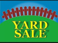 Yard sale!!!!  Saturday May 30 at 605 Mohawk Cres.