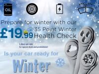 35 Point Winter Health Check. FREE Local Collection & Return Home or Work