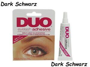 DUO Wimpernkleber eyelash adhesive Schwarz Black strip
