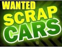 Scrap my car . Cars wanted dead or alive