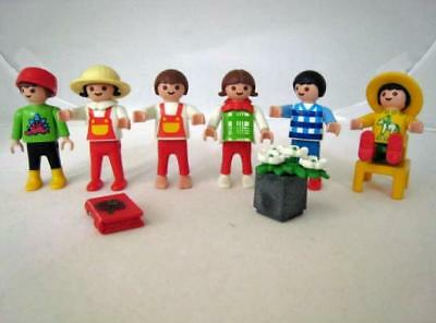 Playmobil People 6 Happy Little Kids Children Toys Accessories Flowers More 17