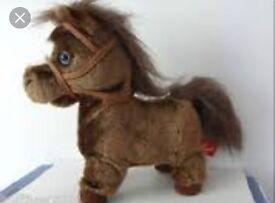Hamlets trotting horse
