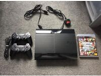 Super slim PS3 500GB with GTA 5