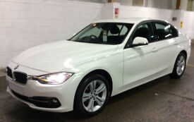 White BMW 318 1.5 Petrol Auto 2016 i Sport FROM £72 PER WEEK!