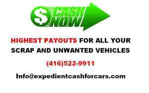 We Buy ALL Cars, Vans, Machinery & Trucks. ALL Conditions.