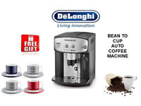 DeLonghi ESAM2800 Fully Automatic Bean to Cup Or Ground Coffee Machine Free Coffee Cups New Boxed
