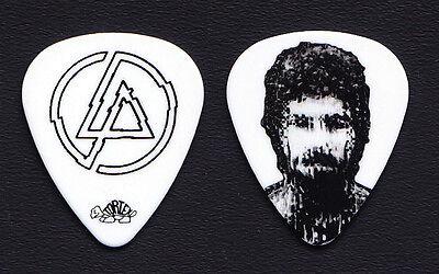 Linkin Park Brad Delson Signature White Guitar Pick - 2010 Tour