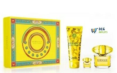 Versace Yellow Diamond Gift Set - New - Free Shipping