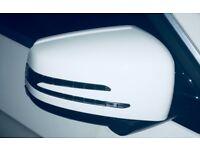 Mercedes E Class White Wing Door Mirrors