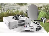 Caravan and camping satellite HDTV System. (Portable)