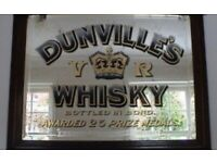 WANTED:ANTIQUE ADVERTISING MIRRORS .ENAMEL SIGNS .OLD ADVERTISING ITEMS.,OLD IRISH PUB MIRRORS