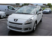 2012 PEUGEOT 5008 PREMUIM PACK FULL OPTION LHD LEFT HAND DRIVE 1 OWNER FULL PEUGEOT SERVICE