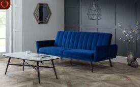 Velvet Sofa Bed BRAND NEW