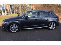 2014/14 Audi A3✅S-Line 2.0TDI Sportback✅NEW MODEL✅FULL SERVICE✅Like BMWMERC1SERIES 3SERIES A250 C220