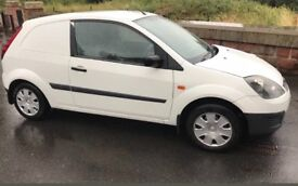 Ford Fiesta van 1.4 TDCI 2006 cheap to clear trade in must go