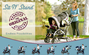 Baby Trend Sit N Stand Eclipse Double stroller