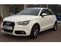 Audi A1 1.4 TFSI - White, Immaculate. £9000 or will consider exchange for bigger car.