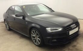Audi A4 Black Edition PLUS FROM £83 PER WEEK!