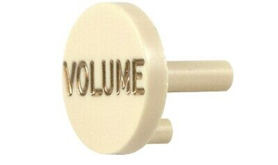 ORIGINAL KNOBS CAP AGED WHITE FENDER S-1 SWITCH STRATOCASTER AMERICAN DELUXE
