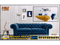 Sofa cum bed in chesterfield style kHZ