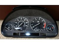 BMW E38 7 Series, E39 5 Series or E53 X5 Repaired and Coded Instrument Cluster